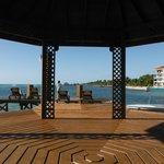 Huge Dock at Grand Caribe