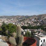 Guanajuato, vue du balcon