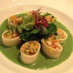 Vegetable cannelloni - served cold