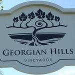 Georgian Hills Vineyards Sign