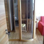 Sauna in camera