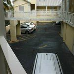 Car Park below rooms