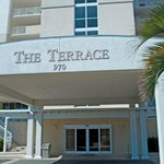 Entrance to The Terrace at Pelican Beach
