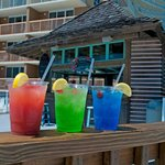 Tiki Bar at the Pelican Beach Resort