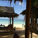paillote du bar les pirates, sur la plage !