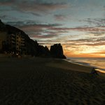 Grand Solmar from beach at sunrise