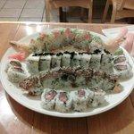 Maru Sushi platter