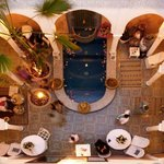 Oriental Patio with luxurious Swimmingpool