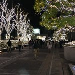 Xmas lights Southern terrace Shinjuku