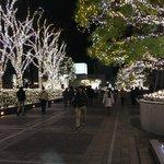 Xmas lights Southern terrace Shinjuku