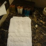 Paradiso - Supply's in bathroom & Hand Towels