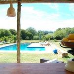 El Chiringo Bistro by the pool...