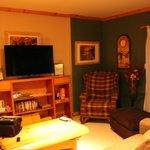 Living Room - Cedar Chalet