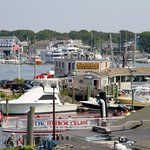 Close to Waterfront restaurant overlooking harbor while you enjoy Cape Cod's best seafood