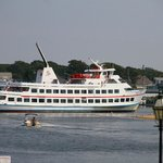 Directly across from the Nantucket / Martha's Vineyard Island ferries just 100 yards away.