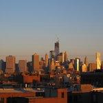 Manhattan Skyline Detail