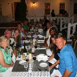 The Spring House was very accommodating while dining with our LARGE group of h