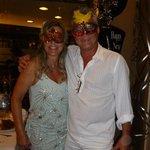 Celebrando año nuevo con nuestros amigos brasileros