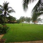la plage au bout du jardin