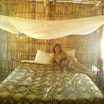 Bed Including well maintained mosquito netting. (No holes!). The hotel will re