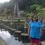 the water palace of Tirta Gangga