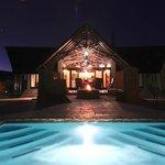 Main lodge - overlooking the pool