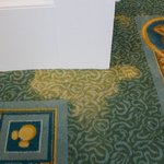 Stained carpet on 4th floor II