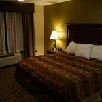 king bed in bedroom 1