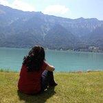 Enjoying the lake