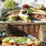 Sandwiches, Toasties, Wraps, Salads, Baguettes