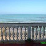 dalla veranda - the terrace on the sea