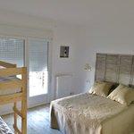 chambre quadruple avec terrasse