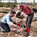 Goldsuchen am Lemmenjoki
