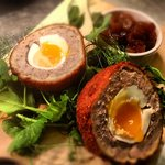 Bells homemade  Scotch Egg.