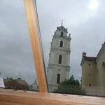 ventana desde la cual se veia la torre de la Iglesia