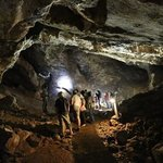 in the caves at sterkfontein