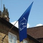 The whole town is festooned with banners during Ilminster Experience week