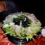 Hot Pot mit Seafood