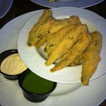 Fried Okra Appetizer