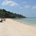 View towards The Eagle Bar, Yaad Yao Beach