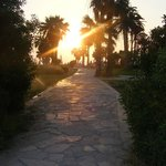 path from hotel to paphos centre