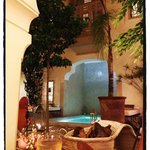 Innenhof Riad al Massarah