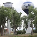 Miles City water towers
