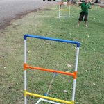 ladder ball out front