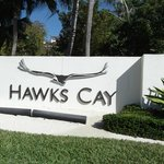 Entry to Hawks Cay Property