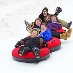 Snow tubing at Canaan's new tube park