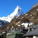 Matterhorn from balcony