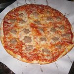 Sausage and Mushroom Pizza
