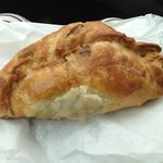 From Sarah's? or sally's? pasty shop in looe town.. the BEST pasty ever