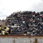 Car rubbish dump